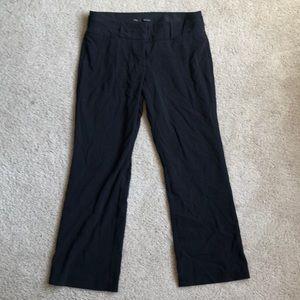 Maurice's I Am Smart cut Black trousers